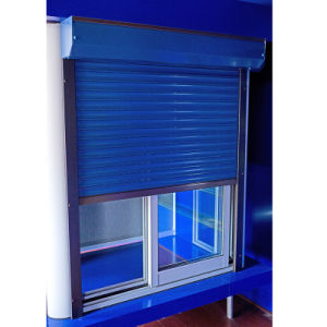 Aluminium Roller Shutter Window (45mm slats) pictures & photos