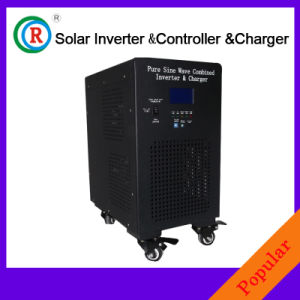 Solar Power Inverter with Built-in Solar Charge Controller