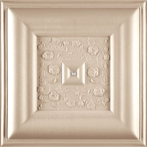 China Suoya 1076-20 3D Wall Panel Leather Carving Romantic Fireproof Waterproof pictures & photos
