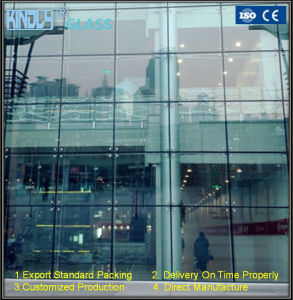 Double Tempered Low-E Igu for Spider Curtain Wall pictures & photos