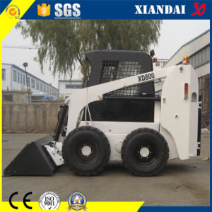 800kg Small Skid Steer Loader with China Xincahai Engine for Sale pictures & photos