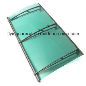 2014 New Aluminium Canopy Awning with Polycarbonate Sheet Roof