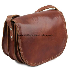 Polished Calf-Skin Leather - Lady Leather Bag Handbag pictures & photos