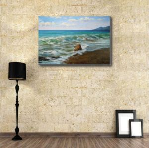 Oil Painting Reproduction of Sea Wave pictures & photos