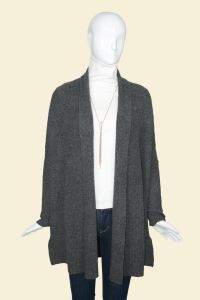Women′s Pure Cashmere Long Cardigan Sweater (17BRAW003) pictures & photos