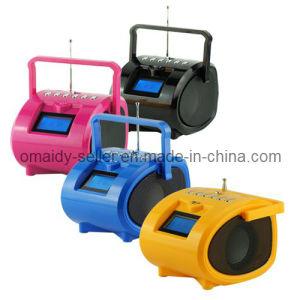 Boombox Radio with USB & SD & Micro SD Card Speaker