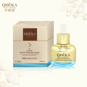 Anti-Aging Products QBEKA Copper Peptide Tendering Serum Instant Wrinkle Serum Deep Moisturizing Serum pictures & photos
