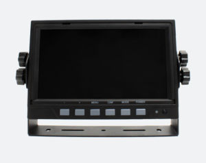 7inch 2-CH Digital LCD Car Monitor Rear View Monitor for Fire Truck Bus pictures & photos