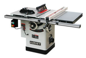Woodworking Machine HW110LG-30 Left Tilting Arbor Riving Knife 10 Table Saw pictures & photos