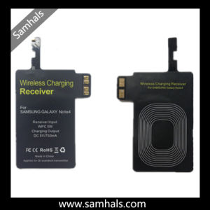 High Quality Qi Wireless Charging Receiver Module for Samsung Note4 pictures & photos