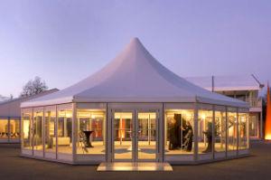 5X5m Outdoor Tent with Luxury Glass Door pictures & photos