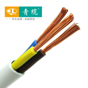 Soft PVC Insulated PVC Sheathed 3 Core Wires (ZR-RVV3*0.75mm2---3*10mm2)