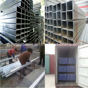 ASTM A500 Gr. B Square Tube for Steel Structure pictures & photos