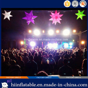 Colorful Bar, Night Club LED Lighting Ceiling Decoration Inflatable Star 028 pictures & photos