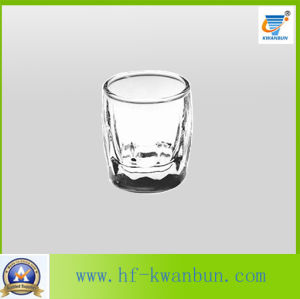 Clear Glass Cup Glass Tumbler Whisky Cup Kitchenware Kb-Hn076 pictures & photos