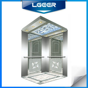 Mirror Etching Stainless Steel Passenger Lift pictures & photos