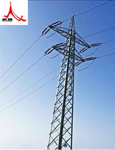 High Quality Angle Steel Power Transmission Tower pictures & photos