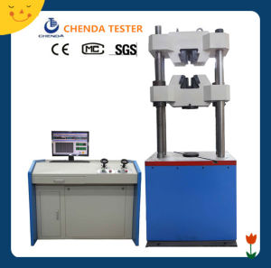 300kn Computer Servo Control Hydraulic Universal Testing Machine pictures & photos