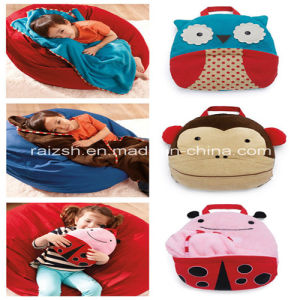 Children Velvet Pillow Quilt Blanket Multi-Purpose Blanket for Traveling pictures & photos