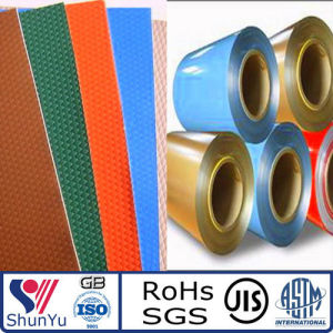 1050, 3003 Color Coated Aluminum Sheet Coil for Exterior