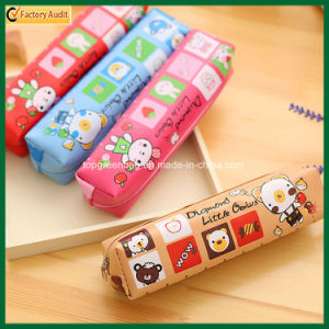 Customized Simple Polyester Zipper Child Pencil Bag (TP-PCB018) pictures & photos