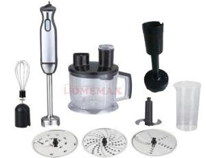 800-Watt Electric Stainless Steel Immersion Hand Blender (Hhb-800W-2208h-3blade-P)