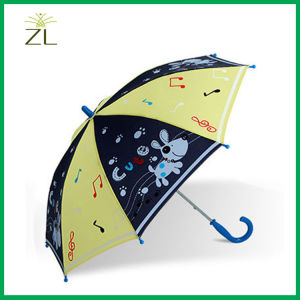 Direct Manufacturer Business Advertising Cheap Price Cartoon Kid Umbrella pictures & photos