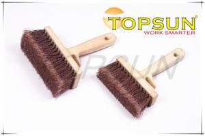 Plastic Handle Curvy Bristle Masonry Brush