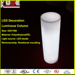 LED Glowing Plastic Column Illuminated Column Light up Decoration pictures & photos