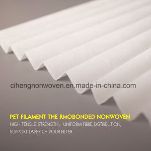 Filter Media Polyester Backbone Material Pet Filament Nonwoven Fabric pictures & photos