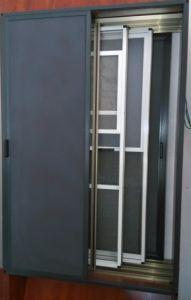 Powder Aluminium Slide Screen Window for Hotel Furniture Material (horizontal slide type) pictures & photos