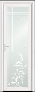 Asia Popular White Aluminum Bathroom Door (EA-9694) pictures & photos