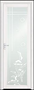 Asia Popular White Aluminum Bathroom Door (EA-9694) pictures & photos