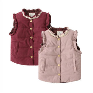Children Warm Cotton Vest for Kids Wear pictures & photos