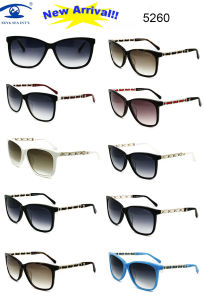 Colorful Hand Made Acetate Fashion Sunglasses (5260) pictures & photos