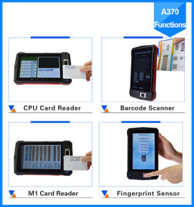 New 2016 industrial Rugged 7 Inch 4G Android Fingerprint Tablet PC with Hf UHF RFID/Barcode Scanner/Qr Code pictures & photos