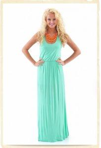 Beach Maxi Lady Dress (HSL006)