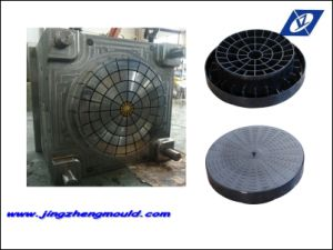 Taizhou Plastic Injection Manhole Cover Mould pictures & photos