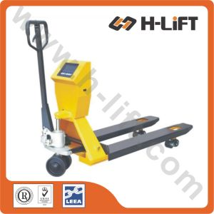 Transport Hydraulic Hand Pallet Truck with Scale PT-Bfc pictures & photos