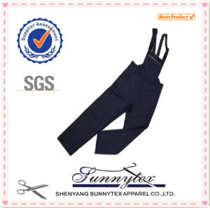 Cotton Flame Retardant Bib Pants for Fr Protective Clothing pictures & photos