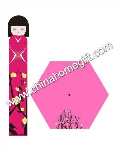 Gift Umbrella Japanese Girl Umbrella (JX-U409)