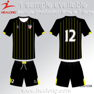 Sublimation Custom Cheap Kid Football Shirt Maker Soccer Jersey pictures & photos