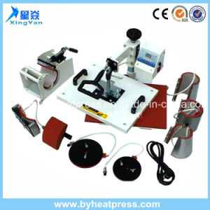 8in1 Combo Heat Press Machine pictures & photos