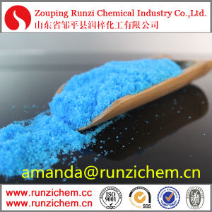 Industry Grade Copper Sulphate Pentahydrate 98% Purity Cu 25% pictures & photos