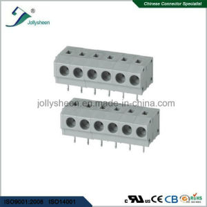 PCB Spring Terminal Block Connector pH3.81mm 5A with Grey Housing pictures & photos