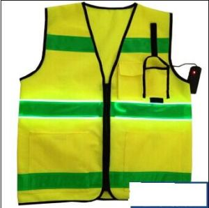 Hotsale Safety Vest with EL Reflective Strip