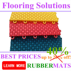 Colorful Safety Outdoor Durable Playground Sports Court PP Interlock Flooring pictures & photos