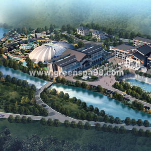 Thermal Spring Resort Conceptual Design pictures & photos