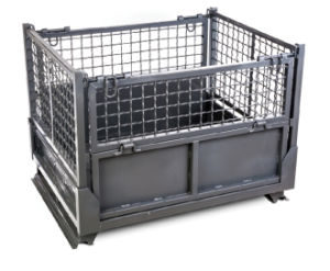 Foldable Metal Cage for Rubber Storage