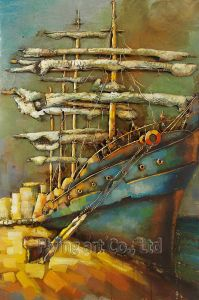 3 D Metal Oil Painting for Boats pictures & photos